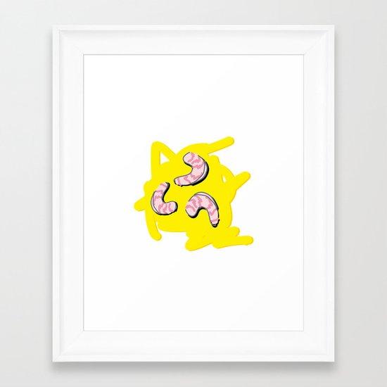 Grits Framed Art Print