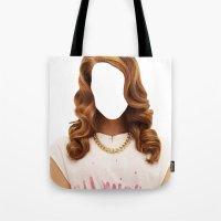 Lana Del Face Tote Bag