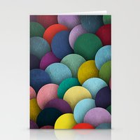 Dirty Circles Stationery Cards
