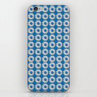 DAISIES DIRECT BLUE iPhone & iPod Skin