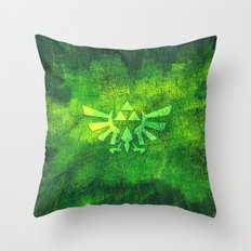 Legend Of Zelda Triforce Throw Pillow