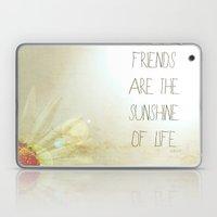 Sunshine & Friendship Laptop & iPad Skin