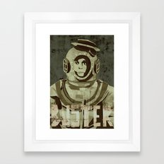 Buster Keaton - the legend Framed Art Print