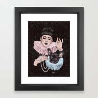 Dress Up Framed Art Print
