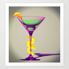 MixMotion: New Orleans Sours Art Print