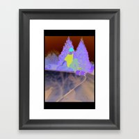 Skater Framed Art Print