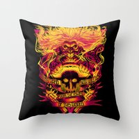IMMORTAN JOE: THE ASHES OF THIS WORLD Throw Pillow