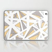 Refracted Diamond - Yell… Laptop & iPad Skin