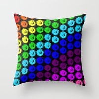 Chase the rainbow Throw Pillow
