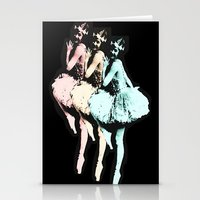 Dancing Girls Stationery Cards