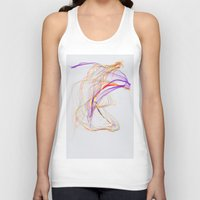 Unisex Tank Top featuring Strings by Love2Snap