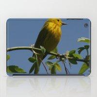 Yellow Warbler iPad Case