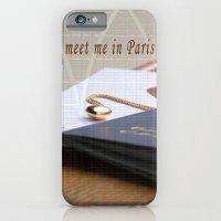 meet me in Paris iPhone 6 Slim Case