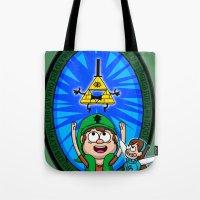 Gravity Falls: Hyrule Falls Tote Bag