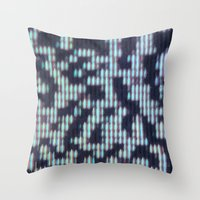 Painted Attenuation 1.2.1 Throw Pillow