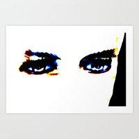 Lugosi's Eyes Art Print