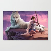 Guardians of the Forest Canvas Print