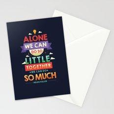 Teamwork  Stationery Cards