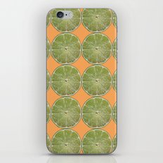 Lime Fruit Photo Print iPhone & iPod Skin