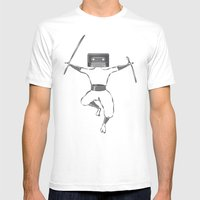 Killer Mixtape Mens Fitted Tee White SMALL