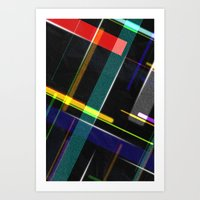 Line Pattern Art Print