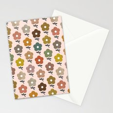 Happy little flower Stationery Cards