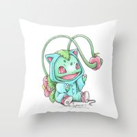 Until the Apple is Ripe Throw Pillow