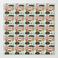 Sweet Treats Canvas Print