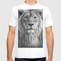 The King Mens Fitted Tee White SMALL