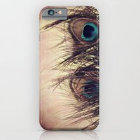iPhone & iPod Case featuring Peacock Feather by KunstFabrik_StaticMovement Manu Jobst