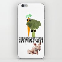 Don't Beat Your Meat. iPhone & iPod Skin