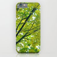 Lush ~ Yellow-green Leav… iPhone 6 Slim Case