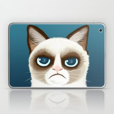 Grumpy Laptop & iPad Skin