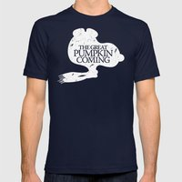 Game Of Peanuts Mens Fitted Tee Navy SMALL