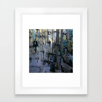Coupled with that exhortation to stop obfuscating. Framed Art Print