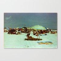 Beach, Wildwood, New Jersey Canvas Print