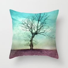 ATMOSPHERIC TREE II Throw Pillow