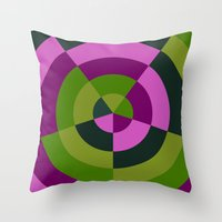 Desynchronized  Throw Pillow
