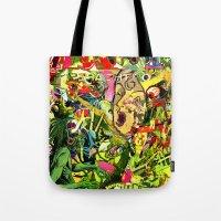 Snake Shaman Rendezview Tote Bag
