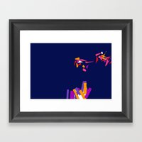 Fragmentation 3 Framed Art Print