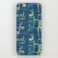 Men with beards iPhone & iPod Skin
