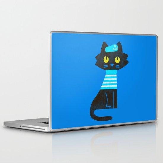 Fitz - Sailor cat Laptop & iPad Skin