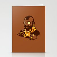 Gentleman T Stationery Cards