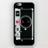 leica camera iPhone & iPod Skin