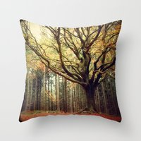Hêtre De Ponthus 02 - L… Throw Pillow
