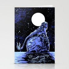 Mermaid Skull Stationery Cards