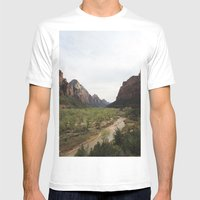 The Virgin River Mens Fitted Tee White SMALL