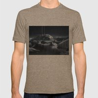 Ice City Mens Fitted Tee Tri-Coffee SMALL