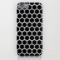 Graphic_Cells Black&White iPhone & iPod Case