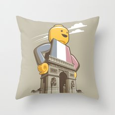 L'Arc de Trouser Throw Pillow